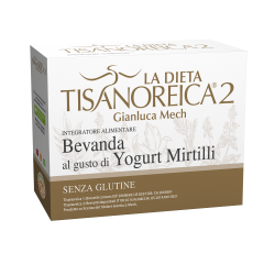 Bevanda Al Gusto Di Yogurt E Mirtilli
