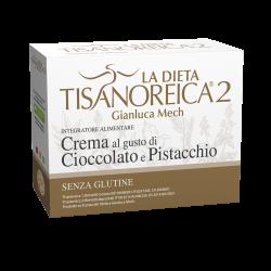 Crema Al Gusto Di Cioccolato E Pistacchio