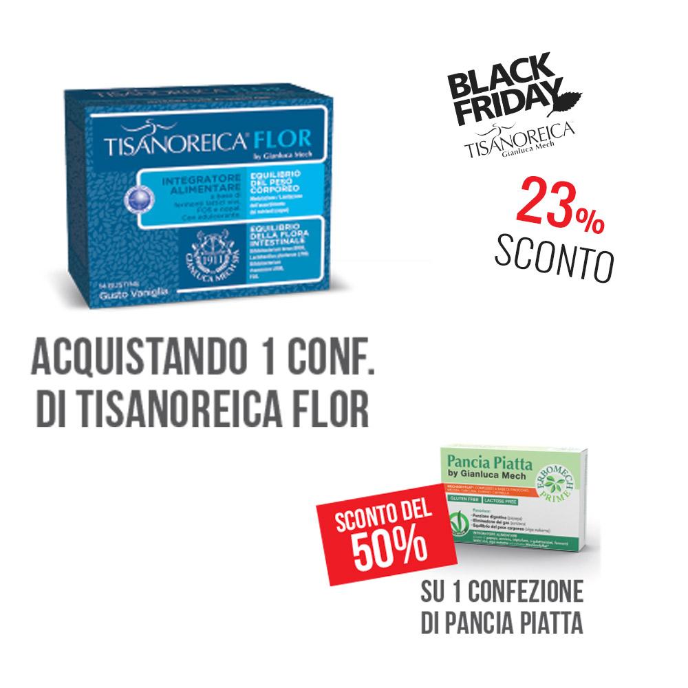 Tisanoreica Flor + 1 Conf. Pancia Piatta A Metà Prezzo