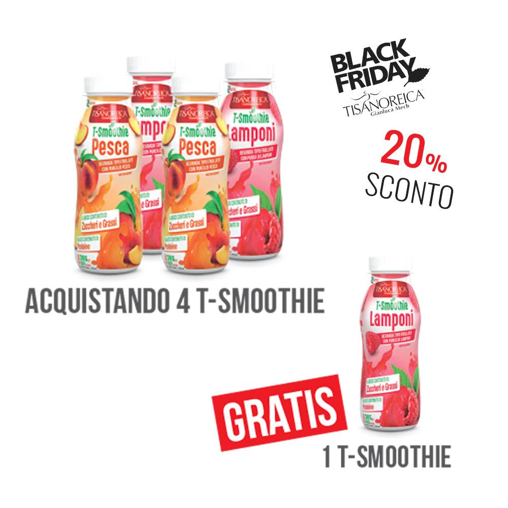 4 T-smoothie Tisanoreica + 1 Omaggio