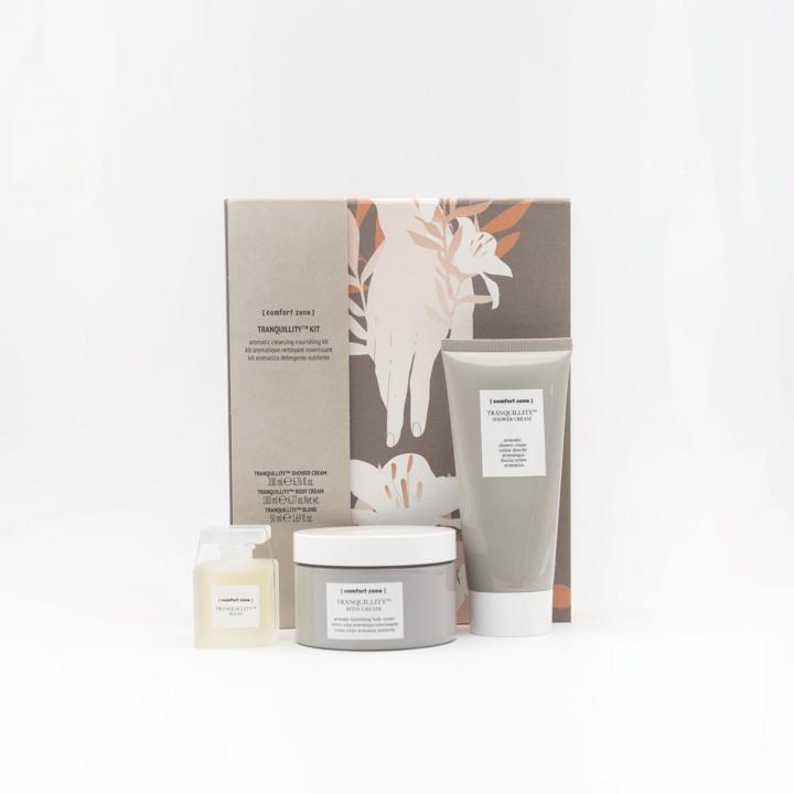 TRANQUILLITY KIT aromatico detergente nutriente